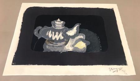 Litografía Braque - La Théière Grise