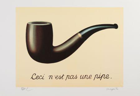 Litografía Magritte - La Trahison des Images