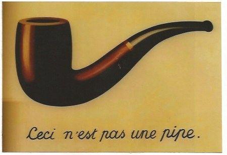 Litografía Magritte - La trahison des images (Ceci n'est pas une pipe)