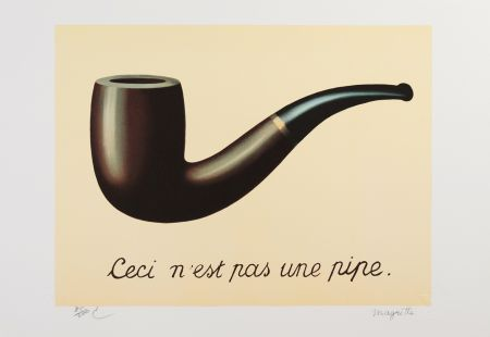 Litografía Magritte - La Trahison Des Images (The Treachery Of Images)
