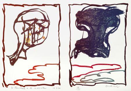 Litografía Alechinsky - La Traversée de la Manche