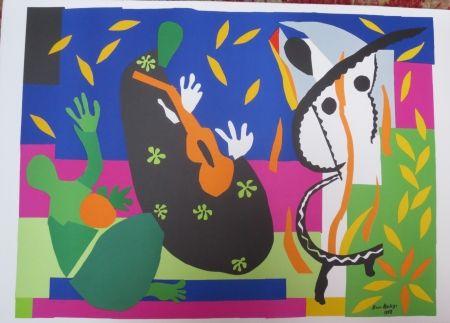 Litografía Matisse - La tristesse du roi