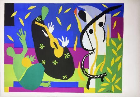 Litografía Matisse - LA TRISTESSE DU ROI. Lithographie sur Arches 1952 (tirage original édité par Tériade)