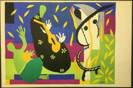 Litografía Matisse - LA TRISTESSE DU ROI. Lithographie sur vélin 1952 (tirage original)