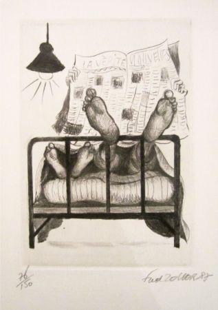 Litografía Zeller - La vérité, nouvelles
