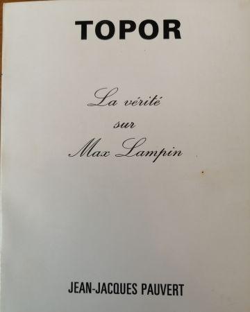 Libro Ilustrado Topor - La Vérité sur Max Lampin