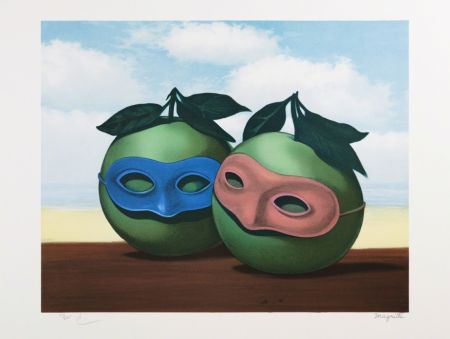 Litografía Magritte - La Valse Hésitation