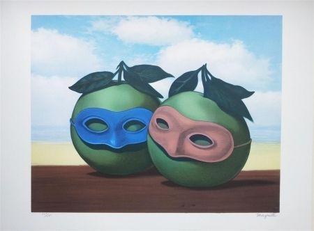 Litografía Magritte - La Valse Hésitation (The Hesitation Watlz)