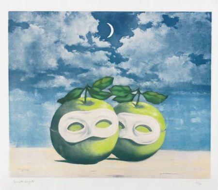 Aguafuerte Y Aguatinta Magritte - La Valse Hesitation