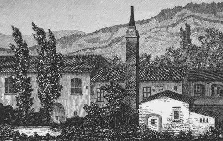 Aguafuerte Mongatti - La vecchia fornace