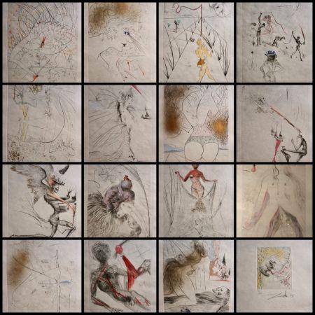 Grabado Dali - La Venus aux Fourrures Complete Suite