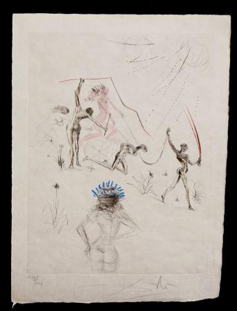 Grabado Dali - La Venus aux Fourrures The Negresses
