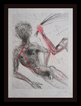 Grabado Dali - La Venus Aux Fourrures Woman With Whip