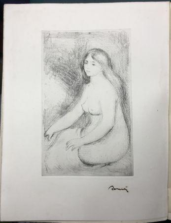 Aguafuerte Renoir - LA VIE ET L'ŒUVRE DE PIERRE-AUGUSTE RENOIR (A. Vollard 1919)