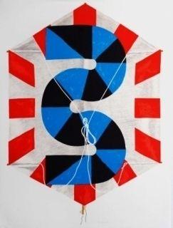 Litografía Sugai - La vitesse du vent