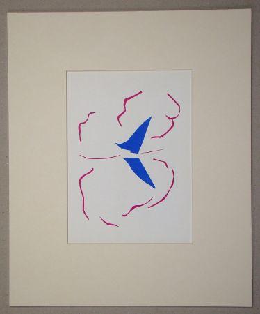 Litografía Matisse (After) - La voile - 1952