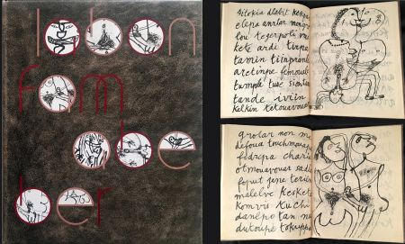 Libro Ilustrado Dubuffet - LABONFAM ABEBER PAR INBO NOM