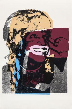 Serigrafía Warhol - Ladies and Gentlemen, Orange (FS II.133)