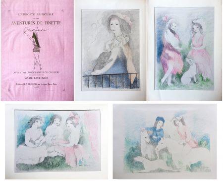 Libro Ilustrado Laurencin - L'Adroite Princesse : ou LES AVENTURES DE FINETTE, conte de fées.