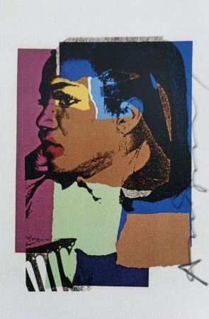 Serigrafía Warhol -  Laides and Gentleman (Signed)