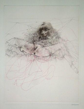 Aguafuerte Y Aguatinta Bellmer - L'aigle mademoiselle