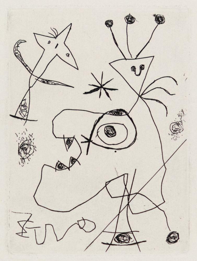 Grabado Miró - L'Aigrette
