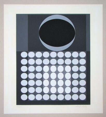 Serigrafía Vasarely - Laika