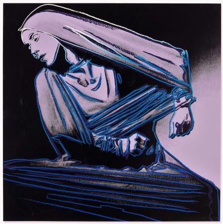 Litografía Warhol - Lamentation