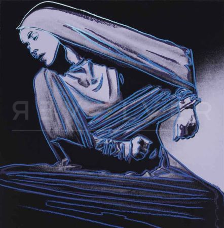 Serigrafía Warhol -  Lamentation (FS II.388)