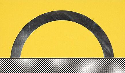 Serigrafía Lichtenstein - Landscape 7