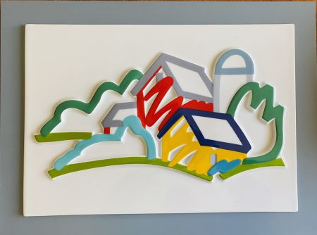 Cerámica Wesselmann - Landscape II- 3D Objekt