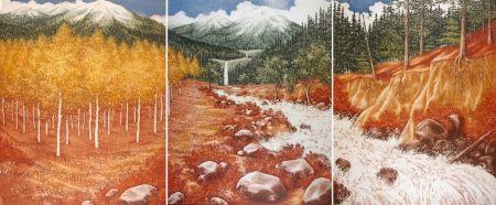 Aguafuerte Culpepper - Landscape (Triptyque)