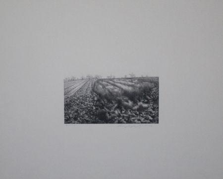 Litografía Siegert - Landschaft