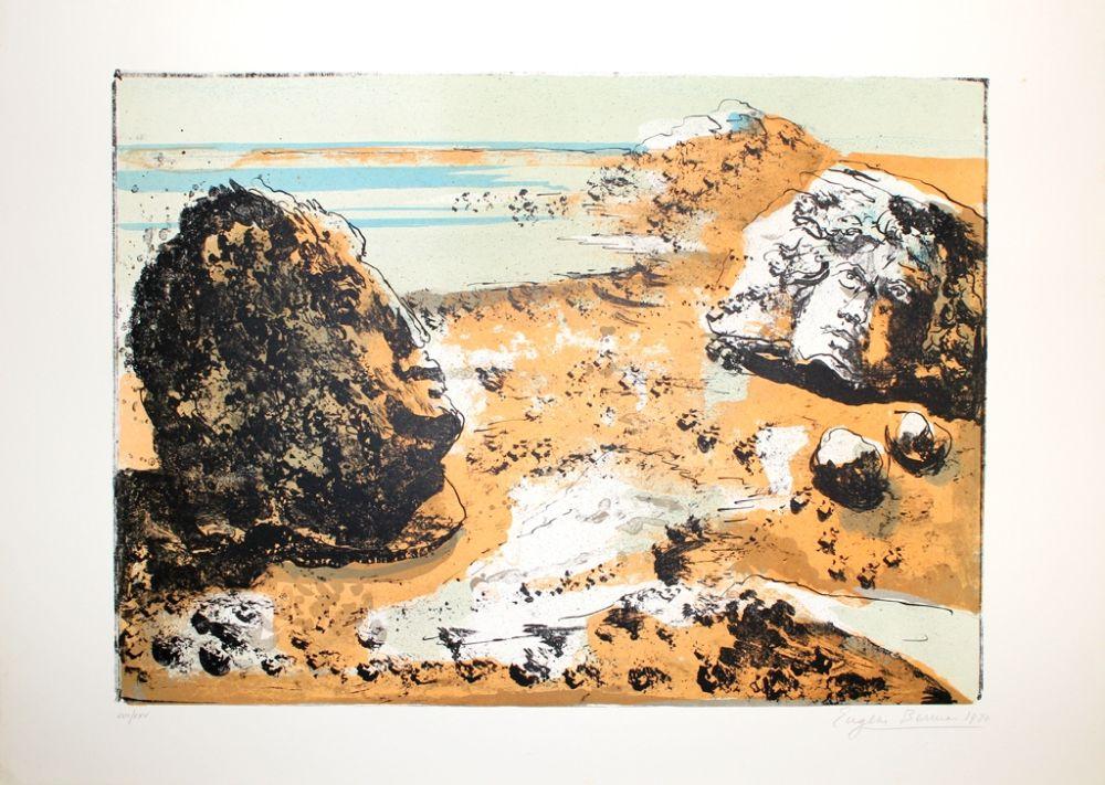 Litografía Berman - Landschaft / Landscape