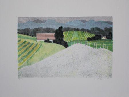 Litografía Breiter - Landschaft / Landscape