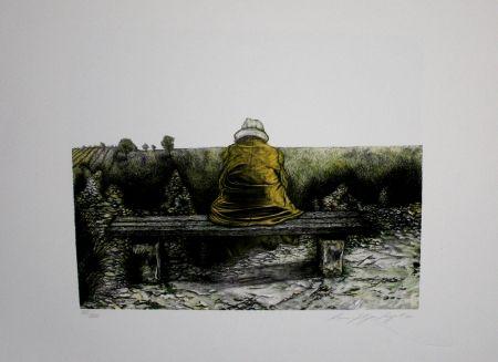 Litografía Siegert - Landschaft wie ich sie kenne