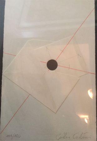 Serigrafía Paolini - L'anello immaginario