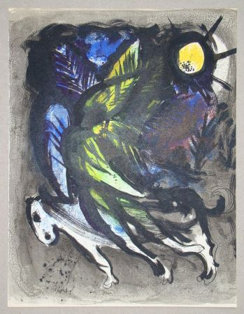 Litografía Chagall - L'Ange