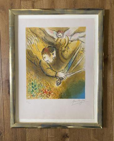 Litografía Chagall (After) -  L'ange du jugement