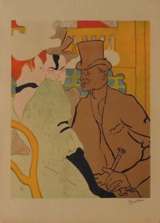 Litografía Toulouse-Lautrec - L'Anglais au Moulin Rouge