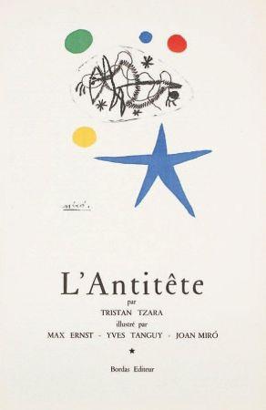 Litografía Miró - L'Antitête