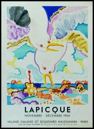 Cartel Lapicque - LAPICQUE GALERIE VILLAND GALANIS