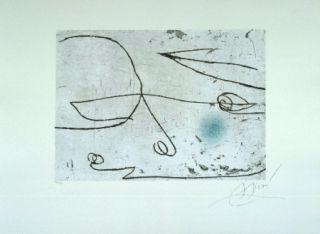 Aguafuerte Y Aguatinta Miró - Lapidari, Safir