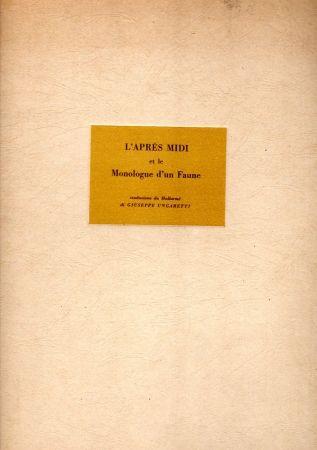 Libro Ilustrado Carra - L'après midi et le Monologue d'un Faune
