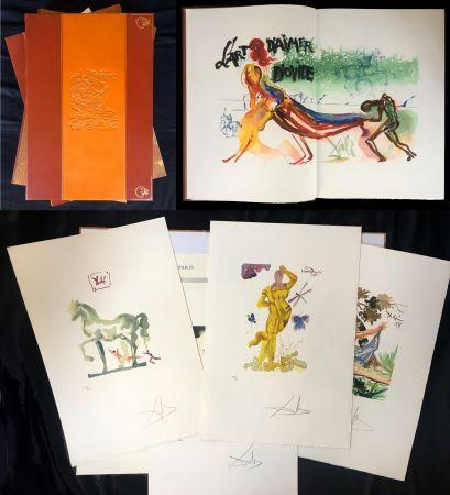 Libro Ilustrado Dali - L'art D'aimer. 15 Gravures Originales De Salvador Dali.