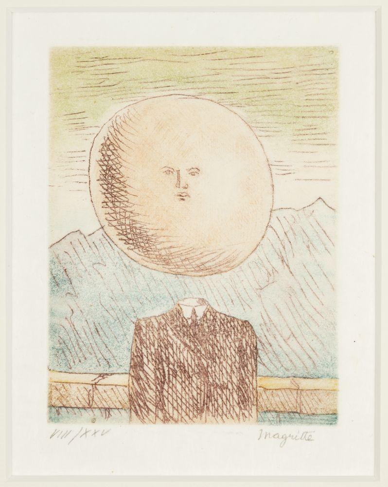 Grabado Magritte -   L'art de Vivre
