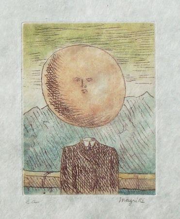 Aguafuerte Y Aguatinta Magritte - L'art de vivre