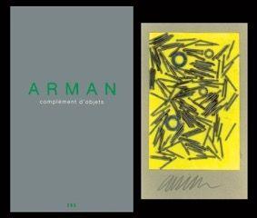 Libro Ilustrado Arman - L'art en écrit