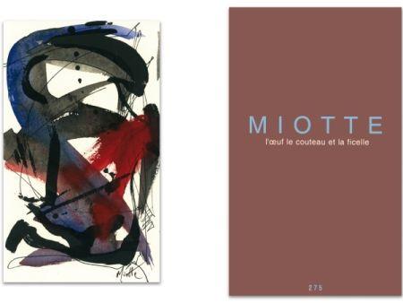 Libro Ilustrado Miotte - L'art en écrit