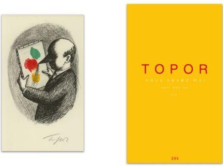 Libro Ilustrado Topor - L'Art en écrit